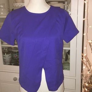 Blue top small
